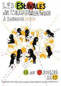 Affiche estivales de l'illustration 2015